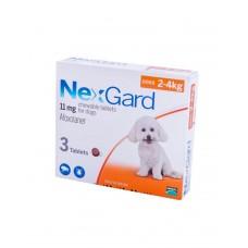 NexGard (Нексгард) Таблетки від бліх і кліщів для собак вагою від 2 до 4 кг фото