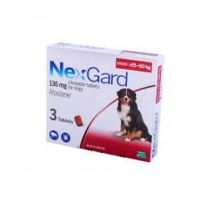 NexGard (Нексгард) Таблетки від бліх і кліщів для собак вагою від 25 до 50 кг фото