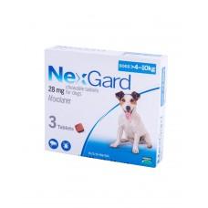 NexGard (Нексгард) Таблетки від бліх і кліщів для собак вагою від 4 до 10 кг фото